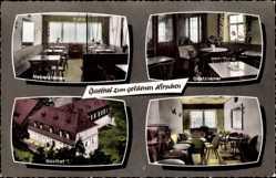 Postcard Geroldsgrün im Frankenwald, Gasthof zum goldenen Hirschen