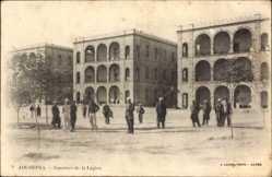 Ak Ain Sefra Algerien, Casernes de la Légion, Fremdenlegion, Kasernen
