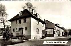 Postcard Fornsbach Murrhardt, Partie am Kurheim Waldfrieden