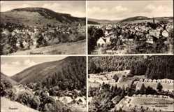 Postcard Schalkau in Thüringen, Rauenstein, Pionierlager Junge Garde, Theuern