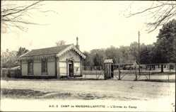 Ak Maisons Laffitte Yvelines, Camp militaire, L'Entrée du Camp