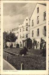 Postcard Chełm Polen, Ul. Lubelska, Straßenpartie, Fassaden, Häuser
