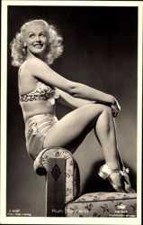 Ansichtskarte / Postkarte Schauspielerin Ruth Buchardt, Blond, Tobis Film