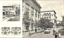 Postcard Mahiljou Mogilew Weißrussland, Krilenko Straße, Zerstörter Ort 1943