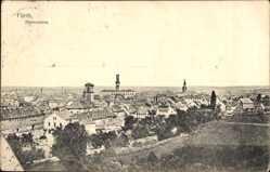 Postcard Fürth in Mittelfranken Bayern, Panoramaansicht