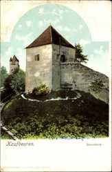Postcard Kaufbeuren am Wertach in Schwaben, Partie am Hexenturm