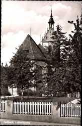 Postcard Fellbach im Rems Murr Kreis, Ansicht der Lutherkirche