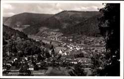 Postcard Calmbach Bad Wildbad im Kreis Calw Baden Württemberg, Panorama, Ort