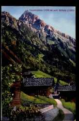 Postcard Gerstruben Oberstdorf im Oberallgäu, Ortschaft mit Höfats
