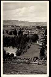 Postcard Martinszell Waltenhofen Bayr. Allgäu, Ortschaft mit Landschaft