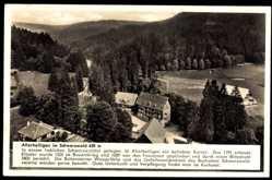 Postcard Oppenau im Schwarzwald, Hotel Allerheiligen, Alfred Nassoy