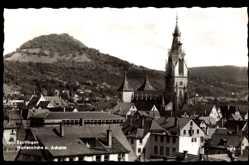 Postcard Reutlingen in Baden Württemberg, Marienkirche und Achalm