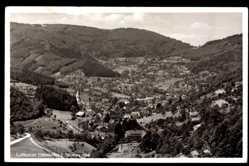 Postcard Ottenhöfen im Schwarzwald Ortenaukreis, Blick auf den Ort