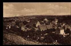 Postcard Maulbronn im Enzkreis, Blick vom Berg auf die Ortschaft