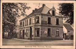 Postcard Bremen, Restaurant, Inh. W. Heemann, Straßenbahn, Eckhhaus