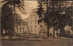 Postcard Friedrichsruh Aumühle im Herzogtum Lauenburg, Blick auf Schloss Friedrichsruh