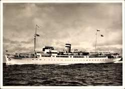 Postcard Seebäderdampfer MS Königin Luise, HAPAG Seebäderdienst