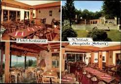 Postcard Engelskirchen Oberstaat, Hotel Restaurant, Waldcafé Bergische Schweiz