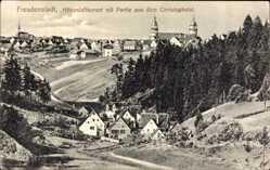 Postcard Freudenstadt im Nordschwarzwald, Partie aus dem Christophstal, Gesamtansicht