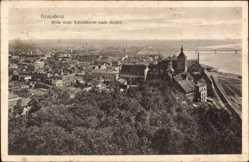 Ak Grudziądz Graudenz Westpreußen, Blick vom Schlossturm nach Süden