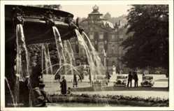 Postcard Stuttgart in Baden Württemberg, Schlossplatz, Fontäne