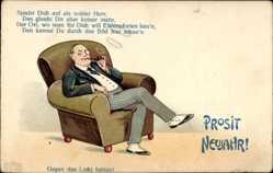 Ansichtskarten Kategorie Historische Glückwunsch-Postkarten