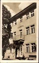Postcard Piešťany Pistyan Pistian Slowakei, Hotel Cyril