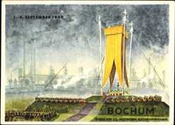 Postcard Bochum, 73. Deutscher Katholikentag, September 1949