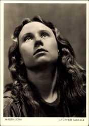 Ak Passionsspiele 1950, Oberammergau, Gabriele Gropper, Magdalena