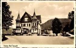 Postcard Bad Teinach Zavelstein im Nordschwarzwald, Gasthof zur Station, Carl Moersch