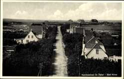 Postcard Sankt Peter Ording in Nordfriesland, Bad Allee, Villen