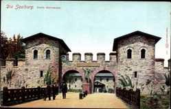Postcard Bad Homburg vor der Höhe im Hochtaunuskreis, Die Saalburg, Porta decumana