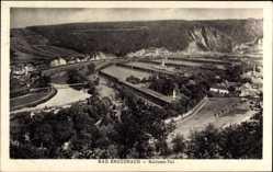 Postcard Bad Kreuznach in Rheinland Pfalz, Salinental, Vogelschau, Fluss