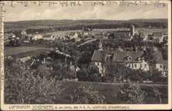 Postcard Schömberg im Nordschwarzwald, Totalansicht der Ortschaft