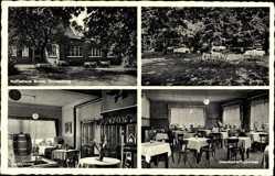 Postcard Gronenburg Greven in Nordrhein Westfalen, Kaffeehaus Bruns