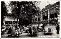 Postcard Bad Münster am Stein Ebernburg, Terrassen vom Kurhaus