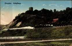 Ak Grudziądz Graudenz Westpreußen, Blick zum Schlossberg