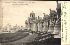 Postcard St Louis Missouri USA, Louisiana Purchase Expo 1904, Colonade of States