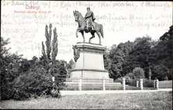 Postcard Coburg in Oberfranken, Denkmal Herzog Ernst II