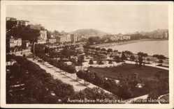 Postcard Rio de Janeiro Brasilien, Avenida Beira Mar, Gloria e Lapa