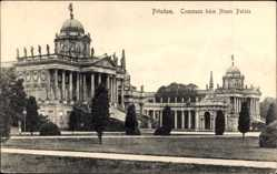 Postcard Potsdam in Brandenburg, Communs am Neuen Palais, Parkanlage