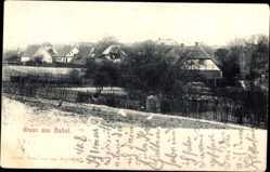 Postcard Dabel Kreis Ludwigslust Parchim, Blick auf die Ortschaft