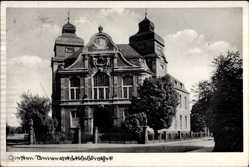 Postcard Gießen an der Lahn Hessen, Blick auf die Universitätsbibliothek