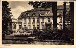 Postcard Wustrau Fehrbellin in Brandenburg, Blick auf das Schloss