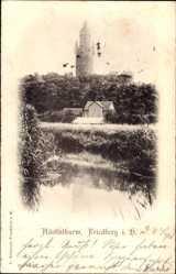 Postcard Friedberg im Wetteraukreis Hessen, Blick auf den Adolfsturm