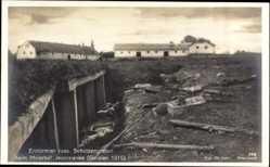 Postcard Erstürmter russischer Schützengraben, Meierhof Jezerzianka, Galizien 1915