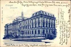 Postcard Erlangen in Mittelfranken Bayern, Blick auf die Universität
