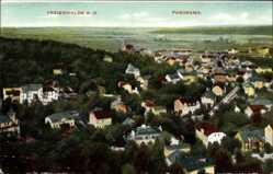 Postcard Bad Freienwalde an der Oder, Kurgebiet Brunnental, Panorama