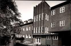 Foto Ak Osterfeld Oberhausen Rhein, Gebäudekomplex, Fenster, Eingang
