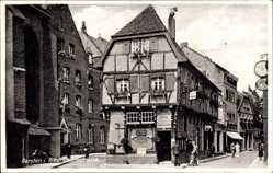 Postcard Dorsten in Westfalen, Hausansicht in der Lippestraße, Allgemeine Zeitung